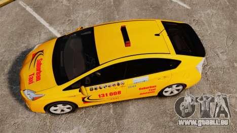 Toyota Prius 2011 Adelaide Taxi für GTA 4 rechte Ansicht