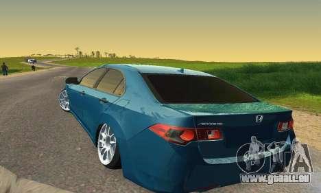 Honda Accord Tuning für GTA San Andreas Innenansicht