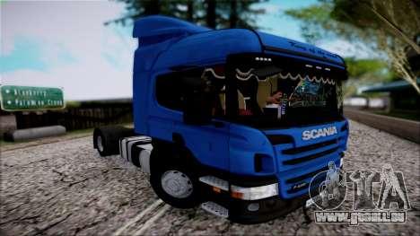 Scania P400 für GTA San Andreas Rückansicht