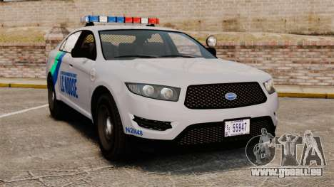 GTA V Vapid Police Stanier Interceptor [ELS] pour GTA 4