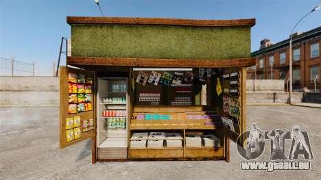 Neue Produkte in der Kaffee-kiosk für GTA 4