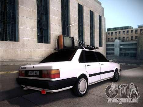 Audi 80 B2 v2.0 pour GTA San Andreas vue intérieure