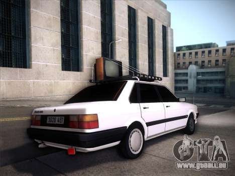Audi 80 B2 v2.0 für GTA San Andreas Innenansicht