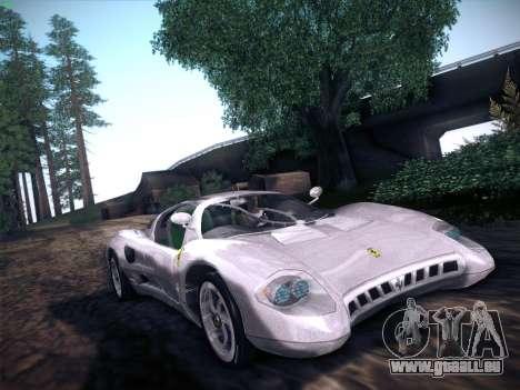 Ferrari P7 Chromo für GTA San Andreas rechten Ansicht