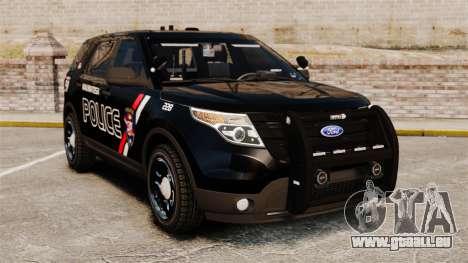 Ford Explorer 2013 Utility - Slicktop [ELS] pour GTA 4
