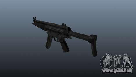 Pistolet mitrailleur HK MP5 A3 pour GTA 4 secondes d'écran