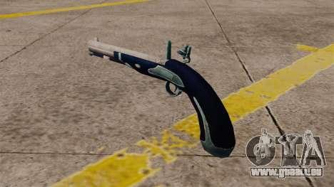 Pistolet silex pour GTA 4 secondes d'écran