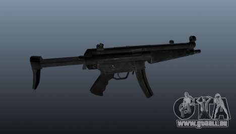 Pistolet mitrailleur HK MP5 A3 pour GTA 4 troisième écran