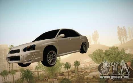 Mietwagen in Luft fixieren für GTA San Andreas zweiten Screenshot