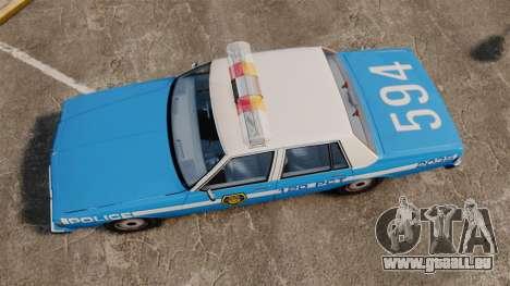 Chevrolet Caprice 1987 LCPD pour GTA 4 est un droit