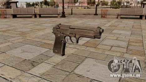 Halbautomatische Pistole Beretta für GTA 4