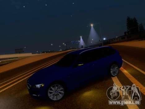 BMW 3 Touring F31 2013 pour GTA San Andreas vue arrière