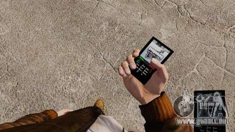 Le thème pour le téléphone GTAGaming pour GTA 4