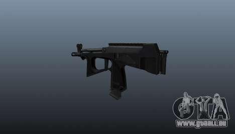 Maschinenpistole pp-2000 v2 für GTA 4 Sekunden Bildschirm