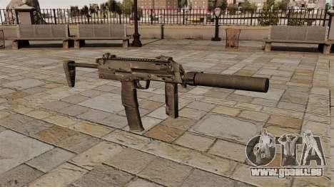 Pistolet mitrailleur HK MP7 pour GTA 4