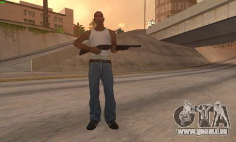 M37 Ithaca pour GTA San Andreas deuxième écran