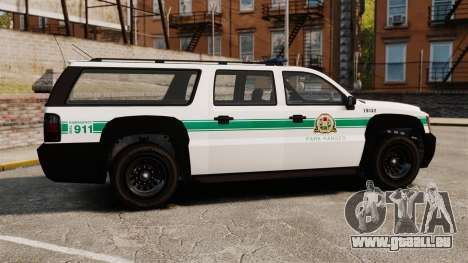 GTA V Declasse Granger Park Ranger für GTA 4 linke Ansicht