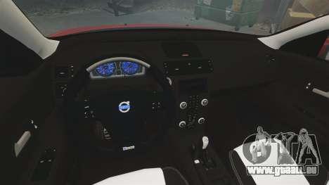 Volvo C30 T5 2009 pour GTA 4 est une vue de l'intérieur