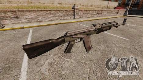 AK-47 v4 pour GTA 4 secondes d'écran