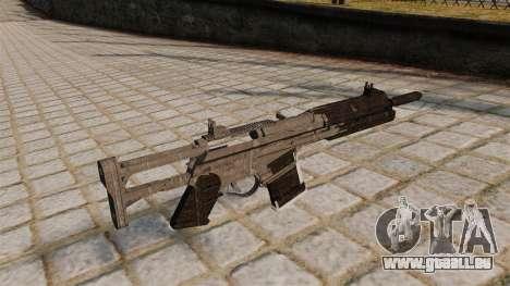 Fusil d'assaut Scarab pour GTA 4 secondes d'écran