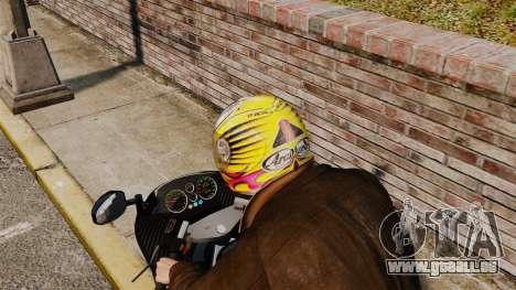 Une collection de casques Arai v1 pour GTA 4 secondes d'écran