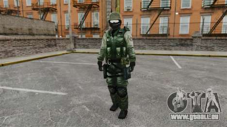 Un commando américain Urban pour GTA 4