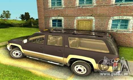 GMC Yukon XL 2003 pour GTA San Andreas laissé vue
