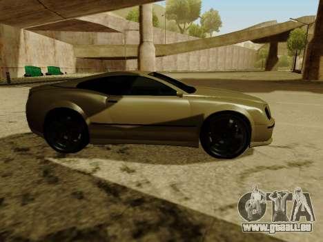 Cognocsenti Cabrio de GTA 5 pour GTA San Andreas vue intérieure