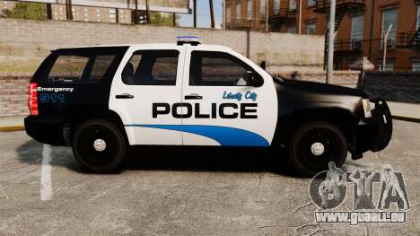 Chevrolet Tahoe Police [ELS] für GTA 4 linke Ansicht