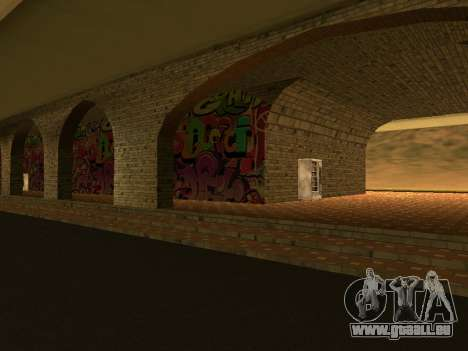 Railway station Las Venturas v1.0 pour GTA San Andreas deuxième écran