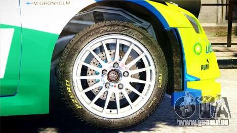 Ford Focus RS M Gronholm Rally Finland WRC für GTA 4 rechte Ansicht