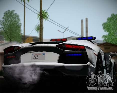 Lamborghini Aventador LP700-4 2012 RCPD V1.0 für GTA San Andreas Seitenansicht