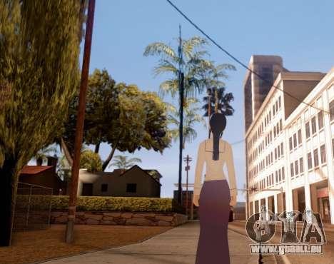 Indo-Japan High School Girl Uniform pour GTA San Andreas troisième écran