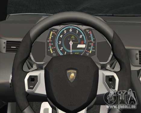 Lamborghini Aventador LP700-4 2012 RCPD V1.0 für GTA San Andreas Unteransicht