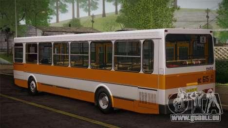 LIAZ peau 5256.00 3-Pack pour GTA San Andreas sur la vue arrière gauche