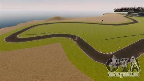 Rennstrecke Spa-Francorchamps Mini für GTA 4 siebten Screenshot