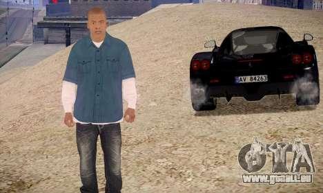 Franklin pour GTA San Andreas deuxième écran