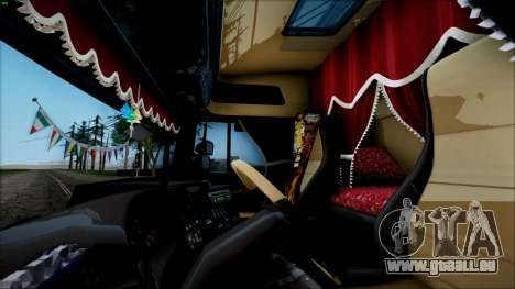 Scania P400 für GTA San Andreas zurück linke Ansicht