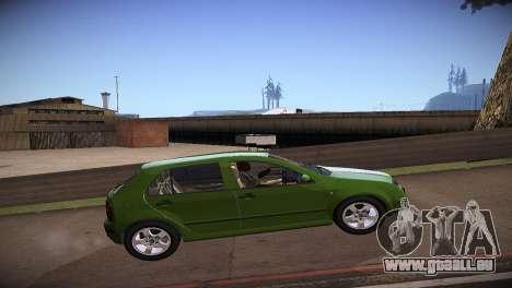 Skoda Fabia pour GTA San Andreas laissé vue