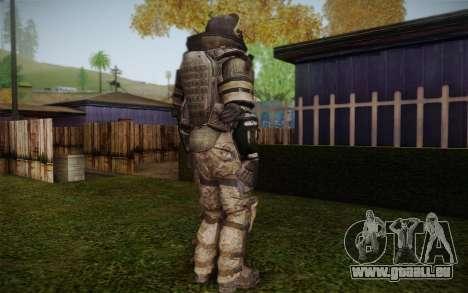 COD MW3 Heavy Commando für GTA San Andreas fünften Screenshot