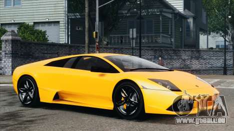 Lamborghini Murcielago LP640 2007 [EPM] für GTA 4 Innen