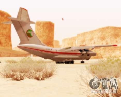 Iljuschin Il-76td für GTA San Andreas rechten Ansicht