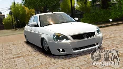 VAZ Lada 2170 Priora für GTA 4 Innenansicht