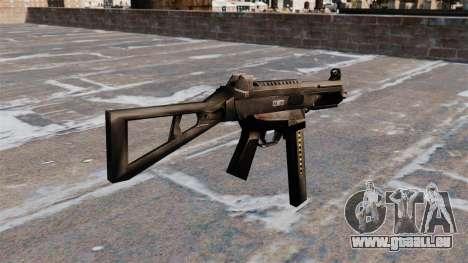 Pistolet mitrailleur HK UMP pour GTA 4 secondes d'écran