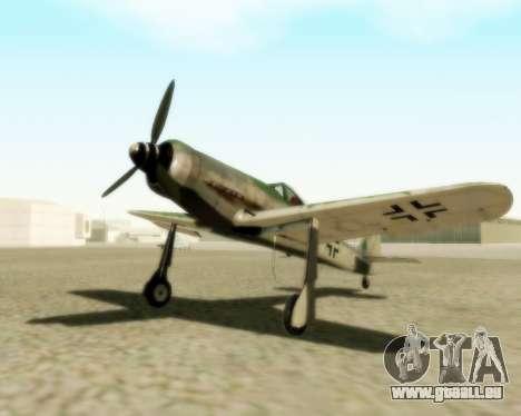 Focke-Wulf FW-190 D12 für GTA San Andreas