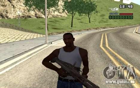 M60E4 pour GTA San Andreas sixième écran