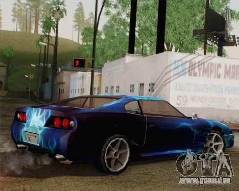Les travaux de peinture pour Jester pour GTA San Andreas laissé vue