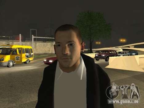 Chester Bennington pour GTA San Andreas troisième écran