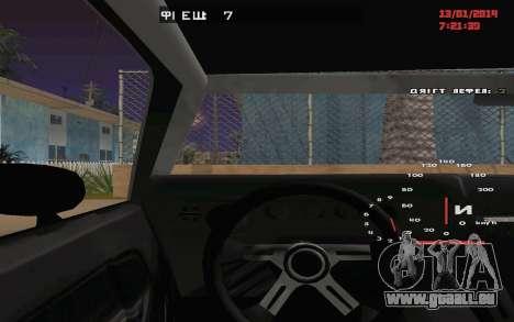 Challenger Missile für GTA San Andreas Seitenansicht