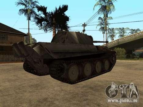Pzkfpw V Panther pour GTA San Andreas vue arrière